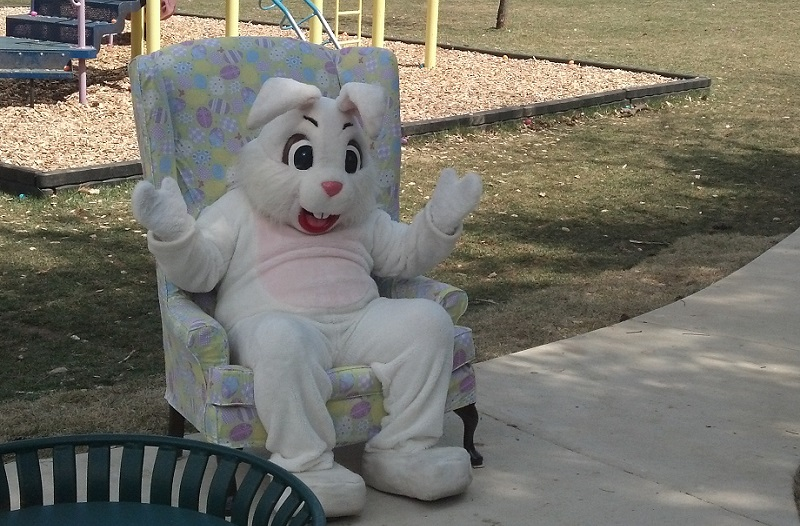 Easter Egg Hunt was a huge success. Big thanks to the Easter Bunny