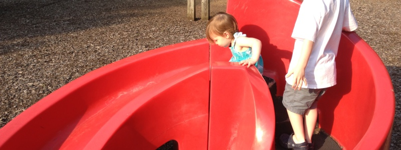 This slide is perfect for toddlers.